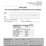 guideline order form